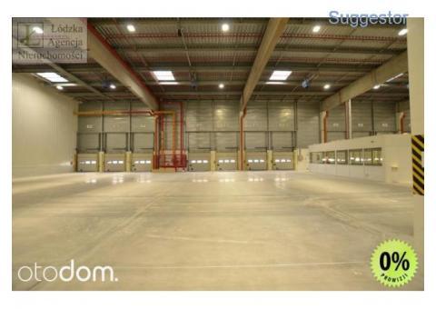 Magazyn 18 tys. m2 + 600m2 biura; Bez prowizji!