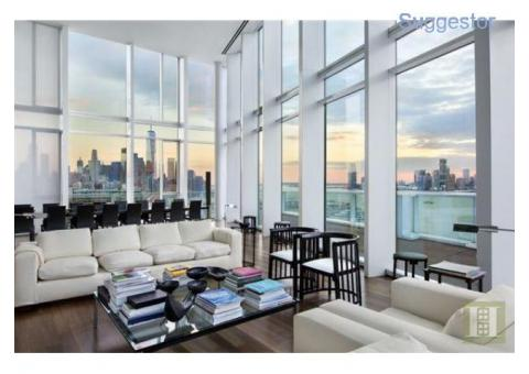 Iconic Award-winning Meier New York Penthouse