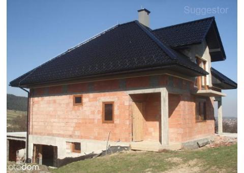 Dom 4km od Myślenic w Bysinie